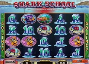 Shark School Automatenspiel