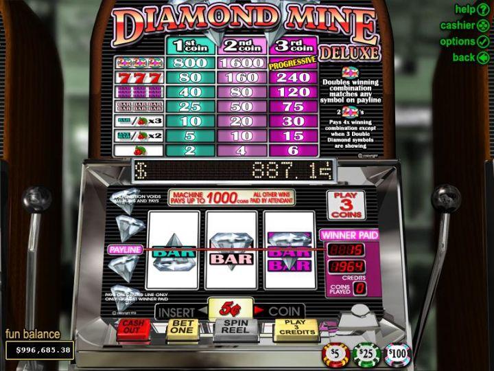 Spiele Diamond Mine (Blueprint) - Video Slots Online