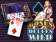 Internet Casinos mitBonus Deuces Wild kostenlos spielen