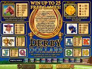 Derby Dollars ohne Anmeldung