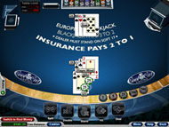 European Blackjack online