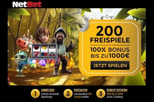 NetBet Echtgeld Bonus