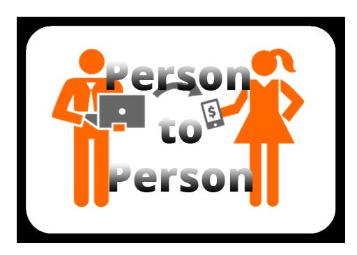 person2person als Zahlungsmethode in internet Casino