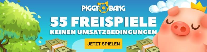 Freispiele für Book of Dead bei neue Piggy Bang Casino