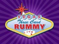 Vegas Three Card Rummy online spielen