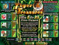Tigar Treasure ohne Anmeldung