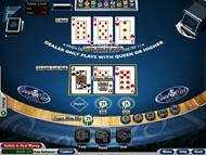 Tri Card Poker spielen